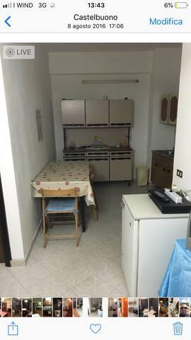 Mini appartamento per 2 persone,centrale,pulito.
