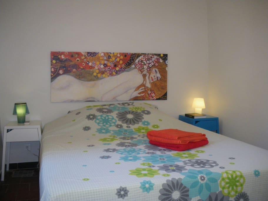 Chambre lit 160×200 6