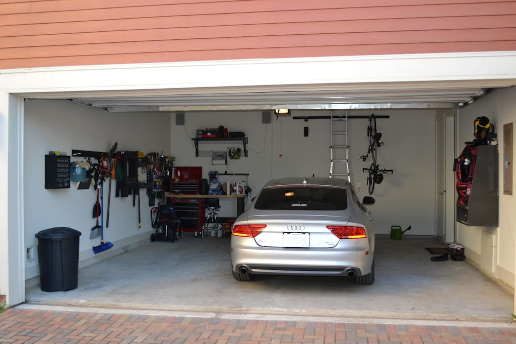 Full access to my 2 car garage