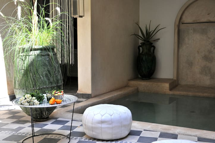 Riad chic privatisé piscine&WIFI