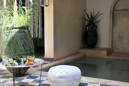 Riad chic privatisé piscine&WIFI