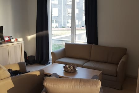 Cozy 2 bedroom private bathrooms near city center - Etterbeek