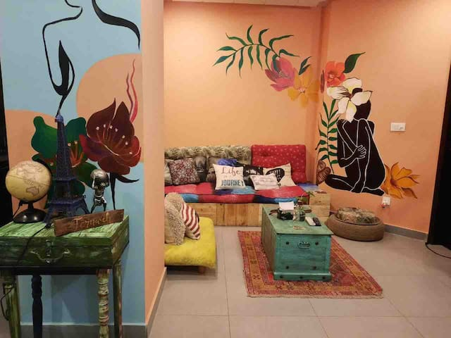 Fernweh Art Home (Unlimited WIFI/Cable Tv)
