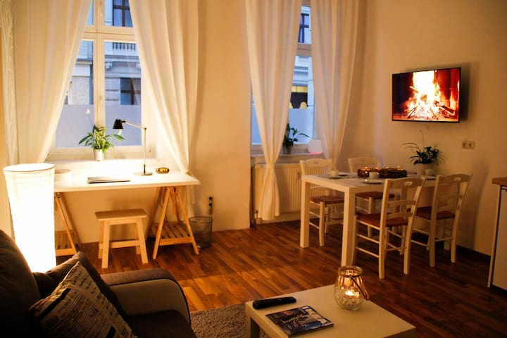 Very central apartment, cosy, downtown, modern,new - Magdeburg - Lägenhet