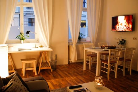 Very central apartment, cosy, downtown, modern,new - Magdeburg - Lejlighed