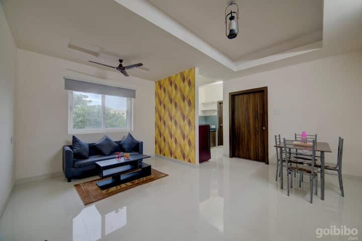 Furnished 1 BHK Flats @ Wipro Circle, Gachibowli