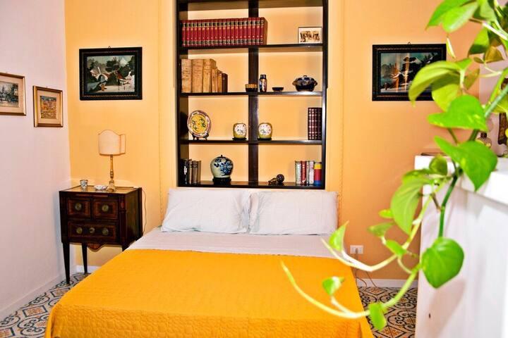 Un soggiorno in una casa di stile Palermo Felicissima