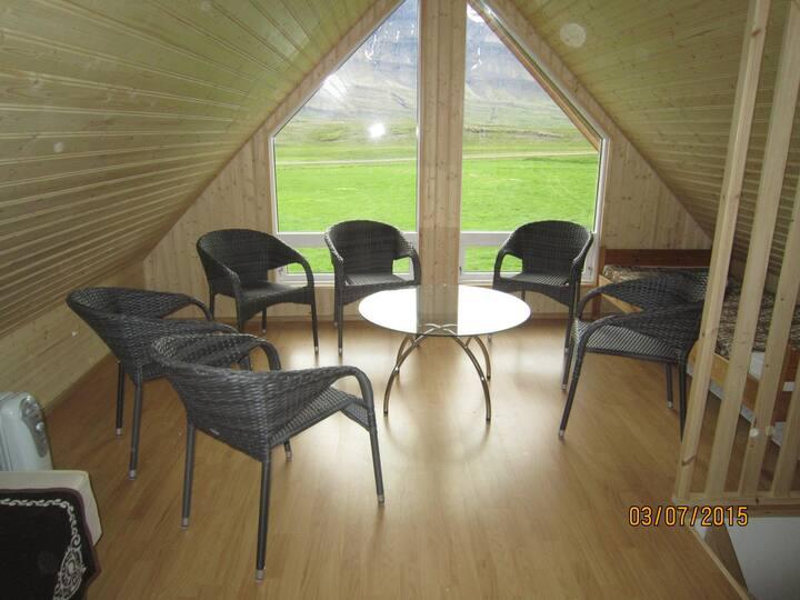 Double room at Ásgarður Guesthouse
