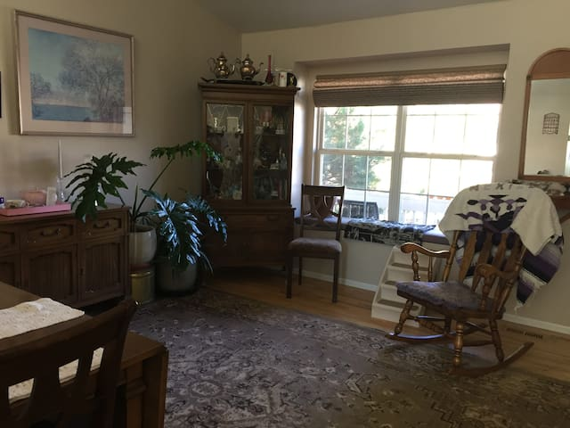 Private entire house w/enclosed studio is yours.