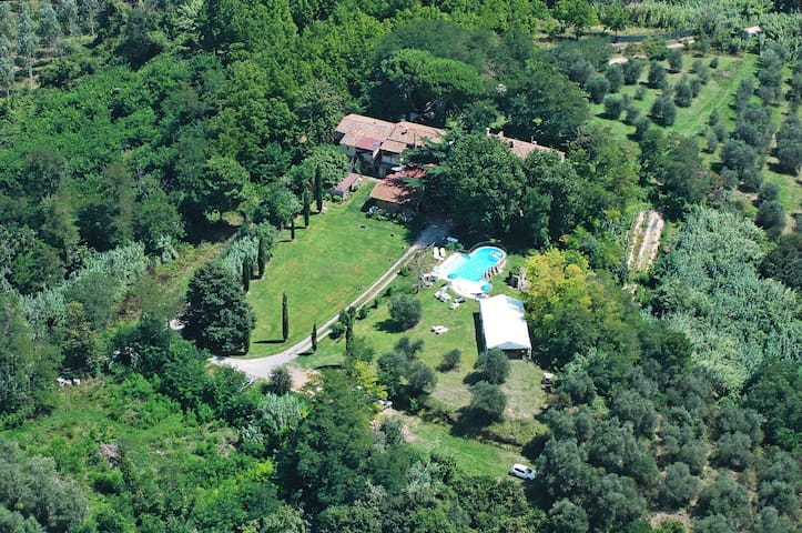 2-room flat Cedro with garden - Provincia di Pisa - Casa