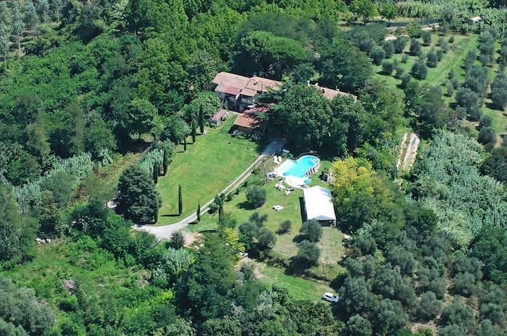 2-room flat Cedro with garden - Provincia di Pisa - Huis
