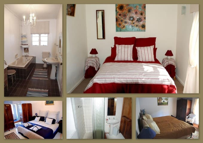 Private Dbl Room in Farm House (Red) Fisherhaven - Overberg District Municipality - Casa