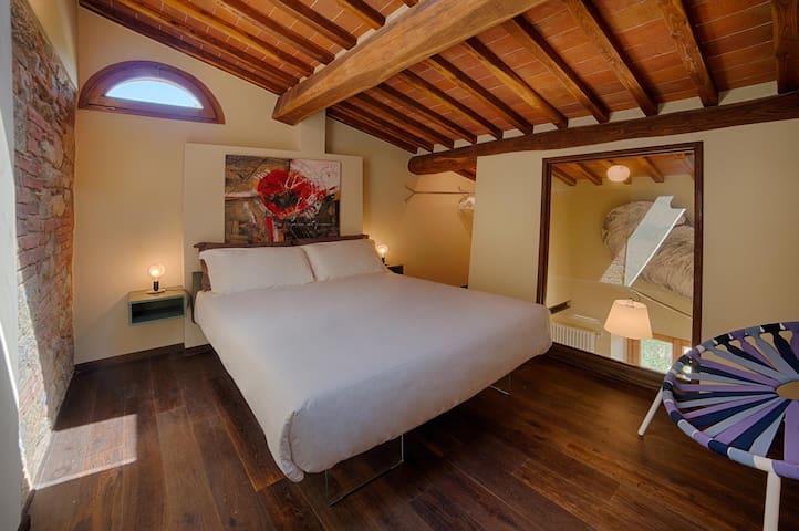 Camera Cipresso in Chianti B&B Design - Vitignano - Bed & Breakfast