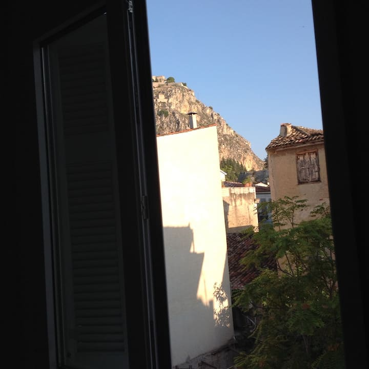 A cozy apartment in the heart of Nafplion