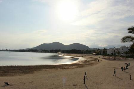 APARTAMENT 50 M. FROM THE BEACH! - Port d'Alcúdia - Pis