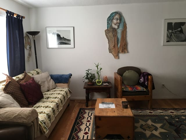 """Creative Harmonious Room"" -  1 Bedroom & Bathroom - Santa Fe - Hus"
