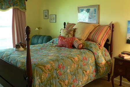 Private bedroom by Golf Course - Dunedin - Apartment