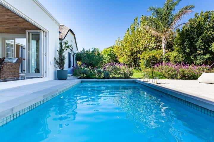 Luxurious Cape Dutch Villa in Franschhoek