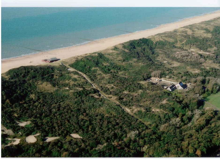 Landgoed aan zee in de duinen