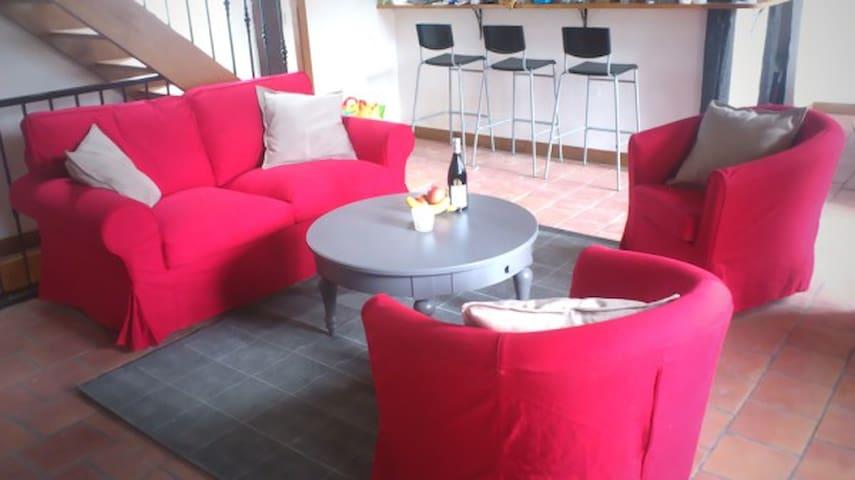 Maison pour 5/6 personnes 3 chambre - Bouafle - Hus