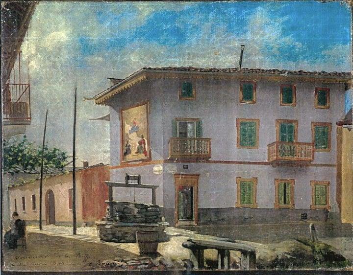 Casa Gonin historic dimora Painter's Suite