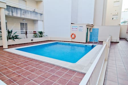 100 metres from the beach, pool - Torrox