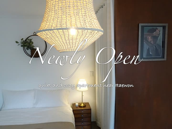 open SALE @ near ITAEWON cozy APT