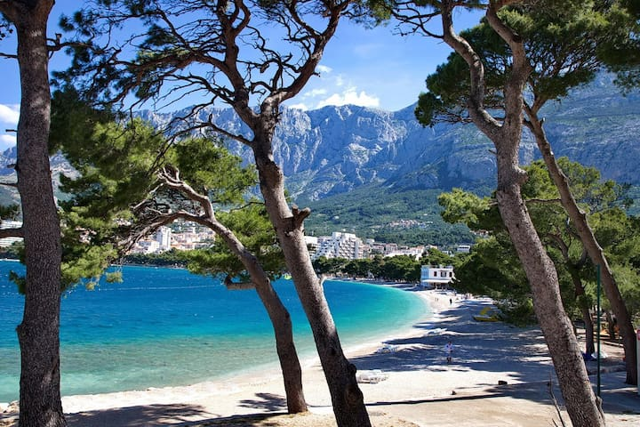 Studio by the beach & city centre 1 - Makarska - Hus