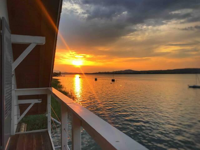 Maison de vacances au bord du lac