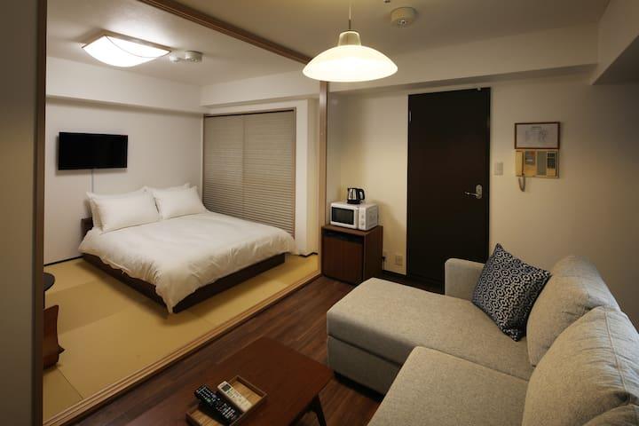 Hotel Kiro 9mins Walk to Kyoto Station, Type 503