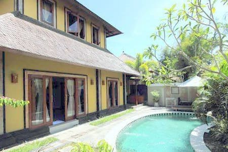Canggu Private Threebedrooms Villa  - North Kuta