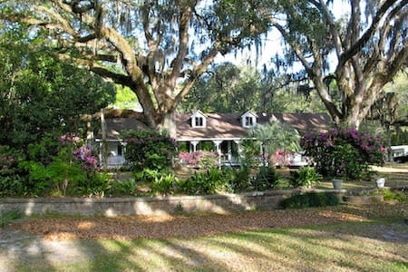 Bon Secour Historic Home on River - Foley
