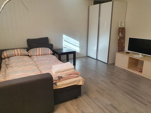 Studio apartment centrally located in Orkanger