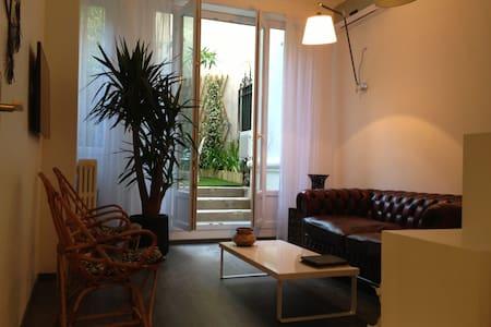 luxe modern & quiet with garden