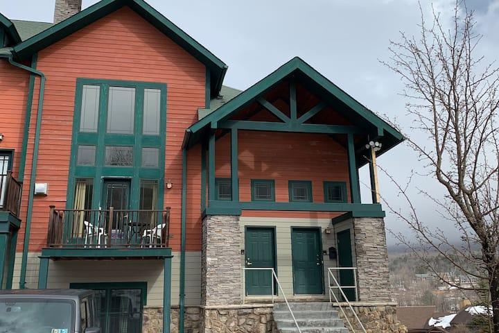 Hunter Mountain Condo- Beginner Slopeside