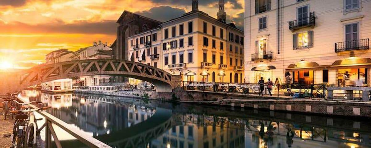 Cozy and lovely LOFT in Milano NAVIGLI