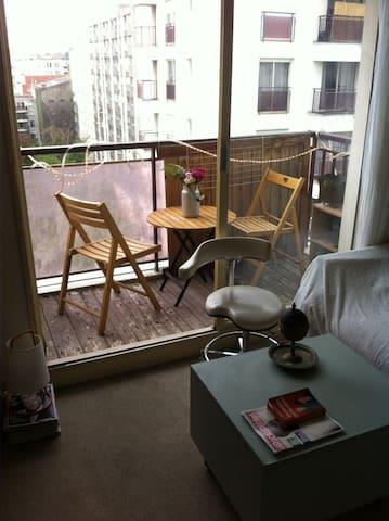 Loue studio meubl 25m2 paris 19 me apartments for rent for Donne meuble ile de france