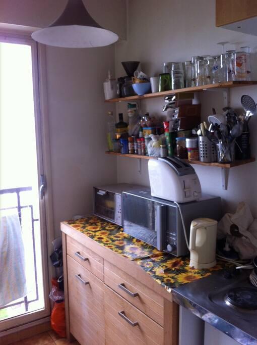 loue studio meubl 25m2 paris 19 me flats for rent in paris le de france france. Black Bedroom Furniture Sets. Home Design Ideas