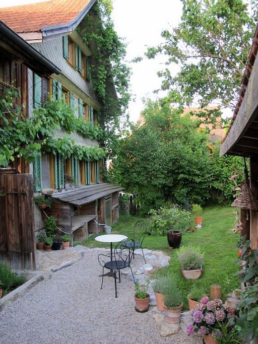 Unser Haus im Alttoggenburg / our house
