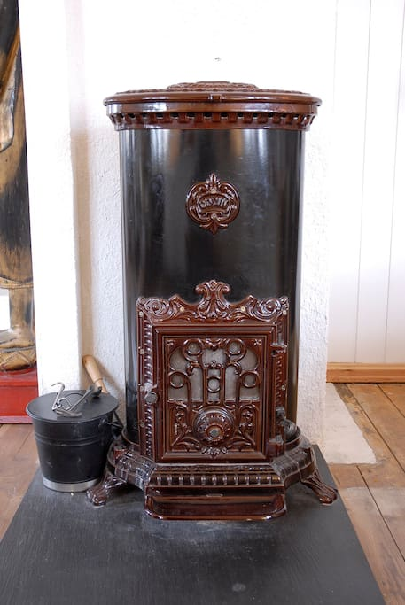 French woodstove.