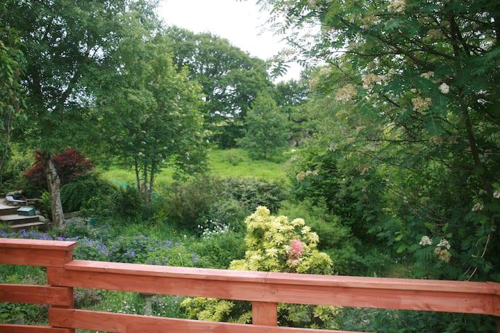 The Garden Flat, Cysgod y Coed