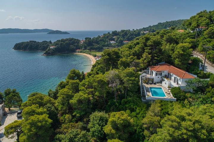 Villa Sea Breeze - Cape Kanapitsa Skiathos