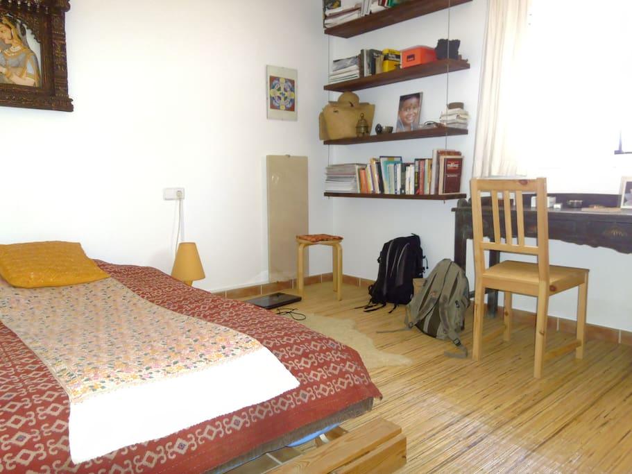 Habitacion con futon para 1 huésped