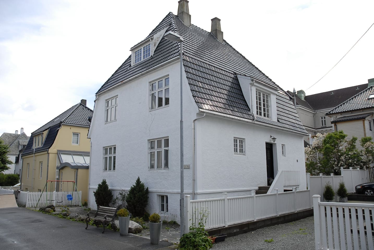 Jugend house built in 1920.