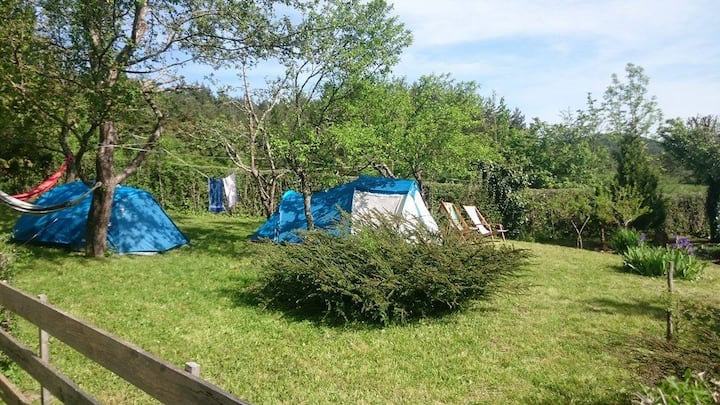 LIKOTA tents near Plitivice Lakes