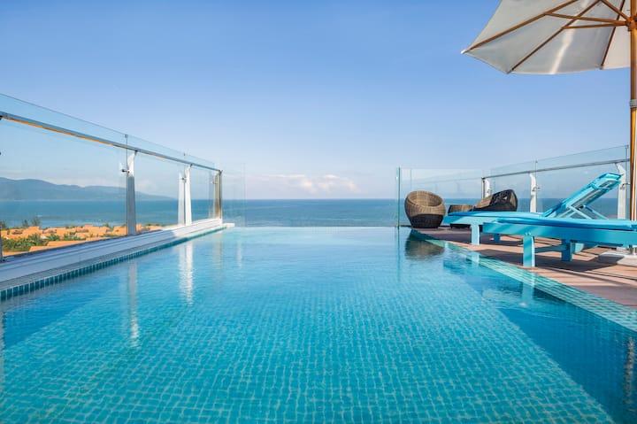 FREE Breakfast*Inf Pool*OCEAN FRONT*1BRSeaView*B