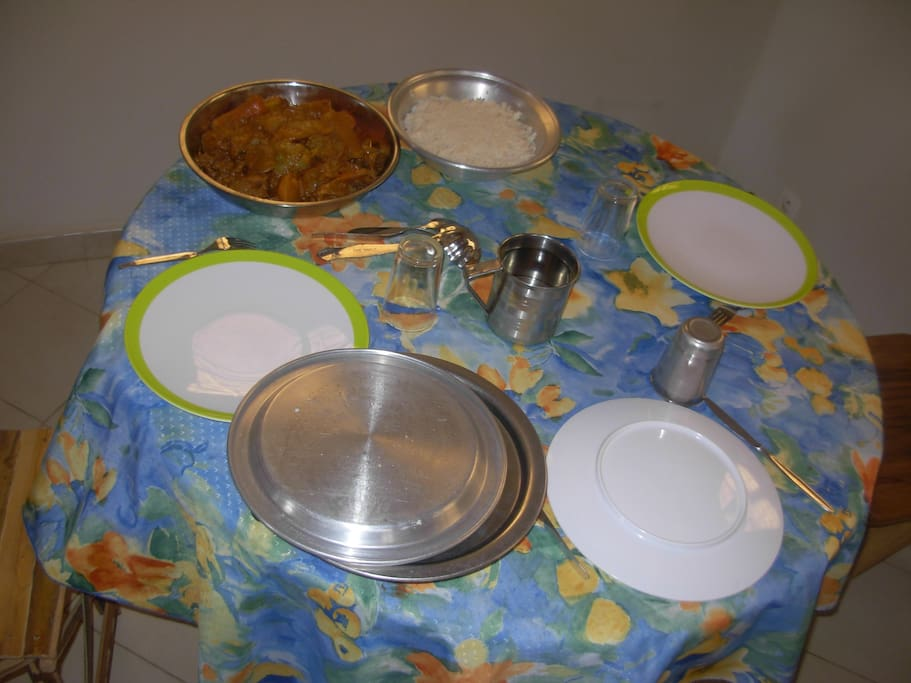 Les repas préparés par Fabienne