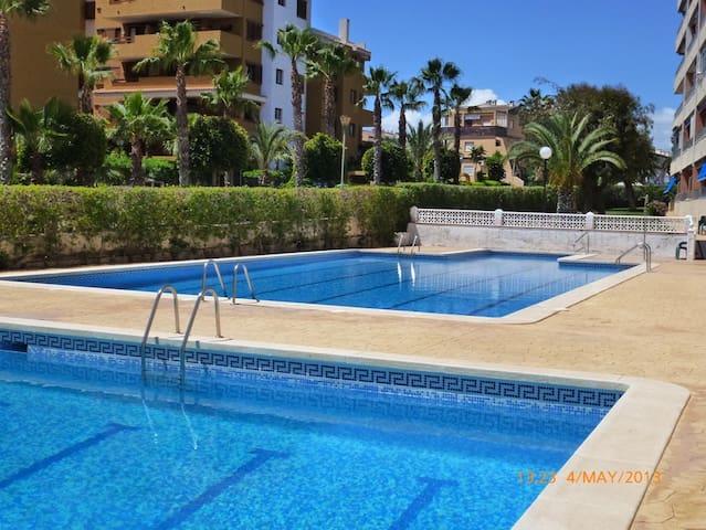 Lovely apartment 400 m to the sea! - Torrevieja - Leilighet