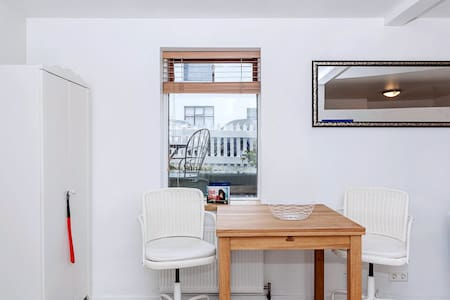 Newly renovated cozy apartment downtown Reykjavik. The apartment is in a great location on the ground floor, just a few minutes walking from the center of downtown Reykjavik where all the amenities and happenings are. The apartment is in a quiet area