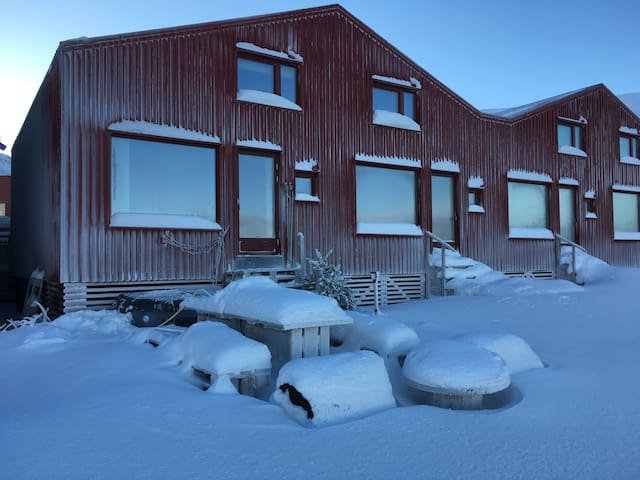 House on the beach - true arctic lifestyle - Longyearbyen